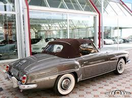 mercedes sl 190 mercedes 190 sl convertible auto salon singen