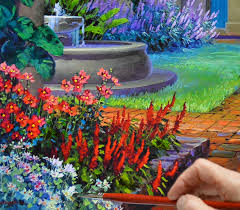 decoration ideas interesting picture colorful garden french