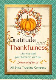 Business Holiday Card Wreath Thankful Business Holiday Card Business Gratitude