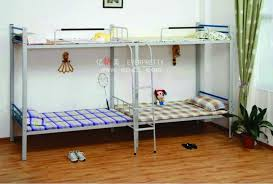 Modern High Quality Cheap Hostel Teenage Twin Metal Bunk Bed For - Good quality bunk beds