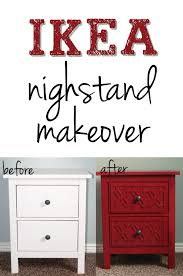 Ikea Hemnes Nightstand Blue Love This Ikea Nightstand Makeover So Simple And Cute Six