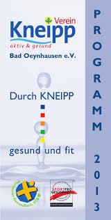 Klinik Am Rosengarten Bad Oeynhausen Programm 2013 By Kneipp Verein Bad Oeynhausen Issuu
