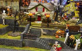 interesting halloween village starter sets best moment halloween
