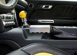 drake cars 2015 2015 2017 mustang brushed satin billet parking emergency e brake