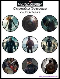 captain america the winter soldier free printables downloads and