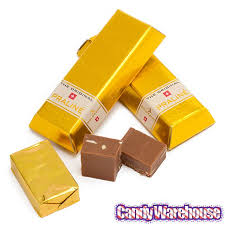 goldkenn milk chocolate pralines mini gold bars 6 piece gift box