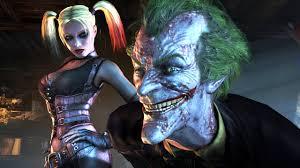 image batman arkham city video game image harley quinn joker 01