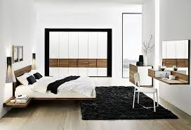 Unique Modern Bedroom Furniture  Compact Painted Wood Pillows - Bedroom furniture designer