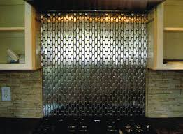 interesting design ideas metallic backsplash unique make a