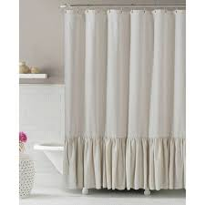 bathroom beautiful modern fabric shower curtain stripe washed