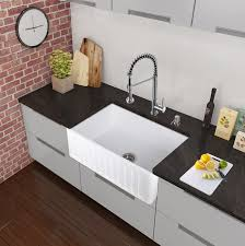 vigo vg02001ch 18 1 2 h pull out spray kitchen faucet in chrome