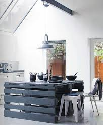 pallet kitchen island pallets for the kitchen some d i y inspiration from scraphacker com