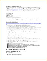 Hairdresser Resume Exclusive Ideas Cosmetology Resume Examples 16 Hairstylist Resume