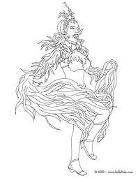 princess rio carnival coloring pages hellokids