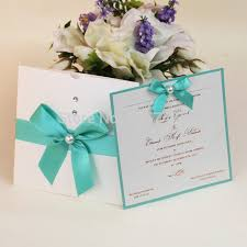 Wedding Invitations With Ribbon Aliexpress Com Buy Hi1012 Fantastic White Pocket Wedding