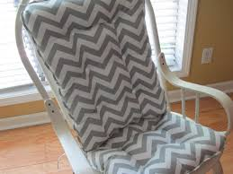 rocking chair cover chevron grey rocking chair bed and shower ideas painting grey