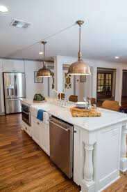 best 25 kitchen island sink ideas on pinterest kitchen island fixer upper a big fix for a house in the woods