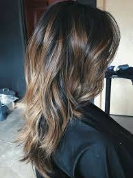hair highlight for asian allie long layered asian hair with natural balayage highlights and