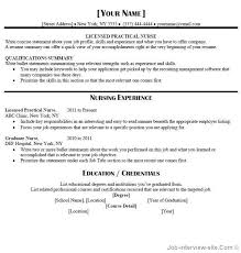 lpn nursing resume examples best resumes