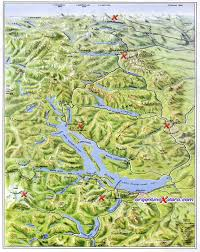 Map Of Northeast Map Of Bariloche Forest Andinopatagónicos Mounts And Lakes Of