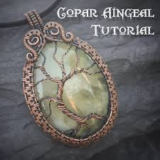 wire jewelry necklace images Tutorial yggdrasil pendant wire wrapping jewelry pattern jpg