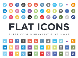 Resume Icons Free Download Free Flat Social Media Icon Sets Web U0026 Graphic Design