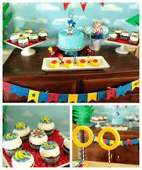 cupcake wishes u0026 birthday dreams real parties adam u0027s sonic the