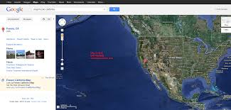 California Map With Cities Google Maps California Cities California Map