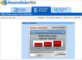 Individual Software Resume Maker Negotiate A Better Salary Salary Finder Resumemaker Com