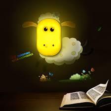 Lamps For Kids Room by Aliexpress Com Buy 1pcs Cute Diy Cartoon Giraffe Sheep Wall