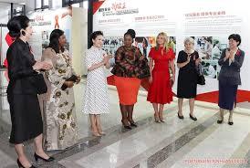 primeira dama chinesa participa de atividade de controle da aids