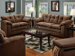 Microfiber Sofa Sleeper Chocolate Microfiber Sofa And Loveseat Set 6565