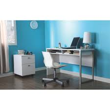 Contemporary Writing Desk Interface Contemporary Writing Desk Pure White Desks