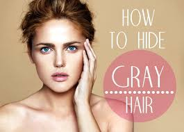 how to blend in gray hair with brown hair how to hide gray hair pinlavie com