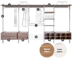 Bandq Bedroom Furniture Relax Interior Storage System Sliding Wardrobe Door Interior