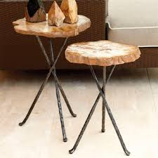 bernhardt petrified wood side table bernhardt bangor petrified wood side table inside design 2