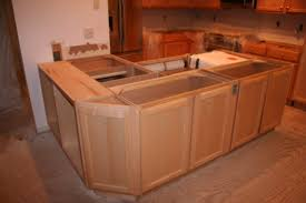 Installing A Kitchen Island Kitchen Island Cabinet Installation With L Shaped