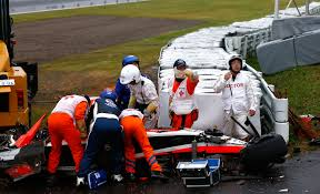 japanese race cars after a horrific crash f1 ponders what more it must do to protect