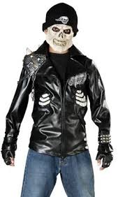 Motorcycle Rider Halloween Costume Ghost Rider Costumes Johnny Blaze Kids Funtober