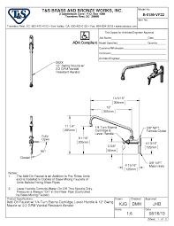 Add On Faucet T U0026s Brass B 0156 Vf22 12