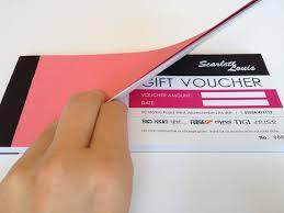 salon gift cards hair salon gift voucher booklet dobrze zrobione