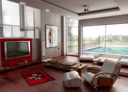 Plain Cool Living Rooms With Tv As The Focus In Design Inspiration - Creative living room design