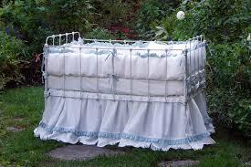lulla smith baby bedding dora linen set laundered linen