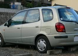 toyota corolla gas consumption toyota corolla spacio e11 1 8i 125 hp technical specifications