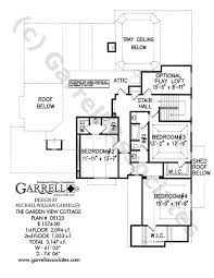 House Plans Traditional Garden View Cottage House Plan House Plans By Garrell Associates