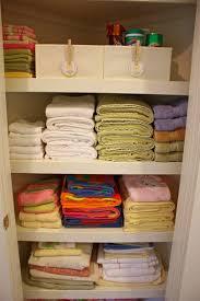 organizing bathroom ideas home bathroom closet linen closet shelving linen closet