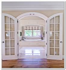 Interior French Doors With Transom - interior french doors with arched transom photos on top home