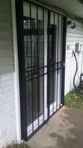 city ornamental iron security doors