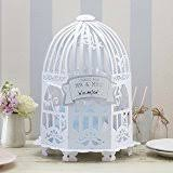 Wedding Gift Card Holder Fun Express White Birdcage Wedding Gift Card Holder Amazon Co Uk