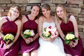 sangria bridesmaid dresses brides birthdays and babies by tiger invitations